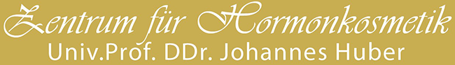Hormonkosmetik – Univ.prof. DDr. Johannes Huber Logo